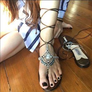 Shoes - Jimmy Choo wrap sandals